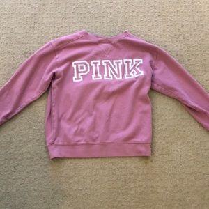 A PINK crew neck